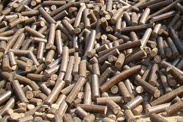 Finished product Briquettes