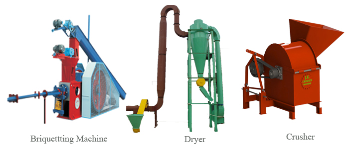 3 Main Briquetting Equipment used in Briquettes Production
